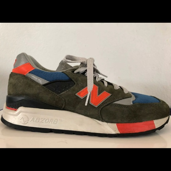 sale retailer 65bc4 29647 New Balance for J. Crew 998 ( Dark Military)